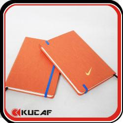 Gostavas de granel logotipo personalizado Impressão Design Leather Pocket reciclado viajantes de composição de notebook de papel