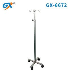 Aço inoxidável IV Suporte para sala de injeção Hospitalar