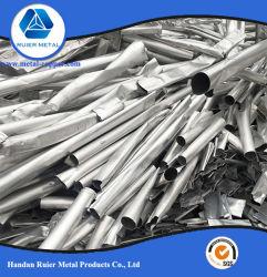 Pure 99,9% Déchets d'aluminium 6063 / Roues en alliage / Mise au rebut de balles de déchets d'aluminium de l'UBC, peuvent