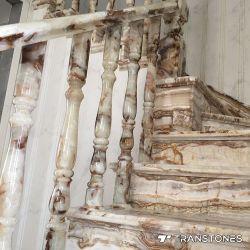 Painéis de resina translúcida Faux Pedra de alabastro para cadeira de alabastro