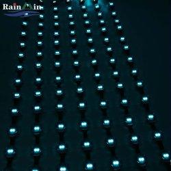 A cores de alta definição LED flexível SMD Cortina de malha de Luz do Visor