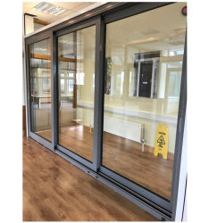 Наружные защитные элементы алюминиевый складной сдвижной двери с выдвижным Fly экран