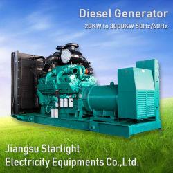 200kw 250kVA moteur Cummins à démarrage électrique générateur diesel de puissance de type ouvert