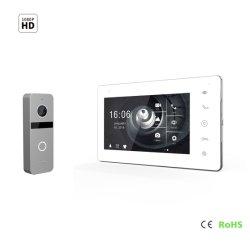 """Video Doorphone del citofono di obbligazione domestica del Interphone 7 dello schermo HD di IPS """""""