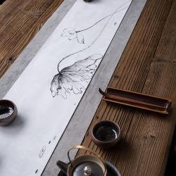 Paño Hand-Painted té de Arte Mateo tez doble de fibra de bambú Deer