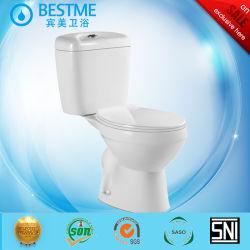 На чистый туалет сиденья из двух частей Siphonic санитарных продовольственный туалет Bc-2070e
