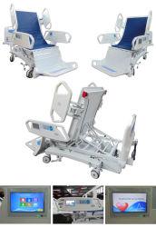 Huit fonctions Electric ICU avec le président position lit d'hôpital