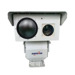 كاميرا PTZ حرارية+بصرية ذات حساس مزدوج عالي الوضوح المدى
