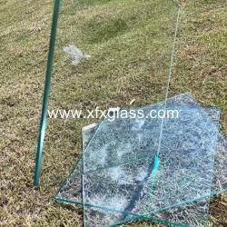 Bâtiment de 3-19mm Temperable une feuille de verre flotté clair de qualité