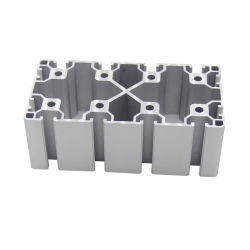 Perfil de aluminio con ranura en T accesorios industriales de perfiles de aluminio perfil de aluminio CNC