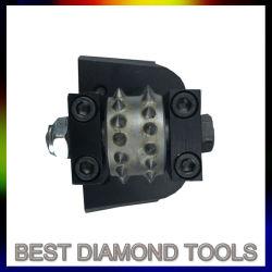 Lavina Bush herramientas de diamante de hormigón de Martillo Rodillo Martillo Bush