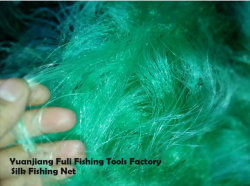 A pesca de seda Net