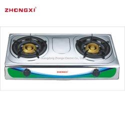 Küche-Gerätedoppelt-Brenner-automatischer Zündung-Gas-Kocher (JZ-RS219)