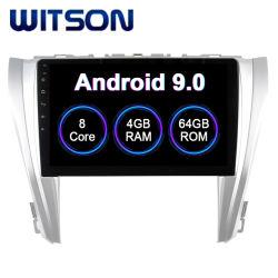 トヨタ車のDVDプレイヤーの2015-2017年のCamry 4GBのRAM 64GBのフラッシュ大きいスクリーンのためのWitsonのアンドロイド9.0のタッチ画面のカーラジオGPS