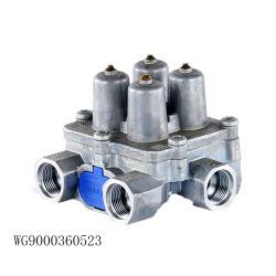 Original HOWO Sinotruk Chariot quatre pièces de rechange La soupape de protection du circuit du WG9000360523