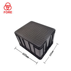 Fabricante de componentes electrónicos ESD plástico Tote Box