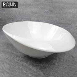 Neues Design heiße Verkauf weiße Keramikschale auf Verkauf