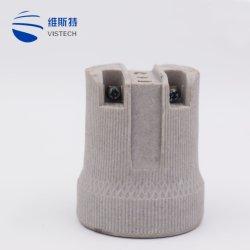 Lampen-Halter des Porzellan-E26/E27/keramischer Lampenhalter