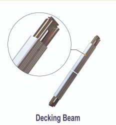 "2000lb feixe em deck de alumínio leve de 96"" e 102"" REBOQUES"