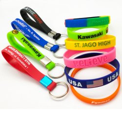 На заводе Custom красочный логотип Deboss спортивных товаров силиконового герметика энергии браслет персонализированные корпоративных подарок для продвижения активности PVC резиновый браслет в Китае