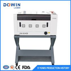 40W 60W machine à gravure laser CO2 acrylique Machine de découpe laser pour Dog Tag Jeans de verre 3040 Graveur laser CNC de la faucheuse pour le bois Caoutchouc Cuir Papier de verre PVC