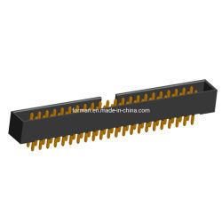 Zone Type de barre de coupe de 2,0 mm DIP droites et à angle droit de connecteur femelle de l'algorithme PBC IDC