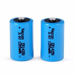 Shenzhen 3.7V 14250 300mAh Bateria Recarregável de Iões de Lítio para GPS