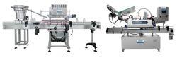 Haute vitesse linéaire automatique avec capuchon de la machine de plafonnement de la machine d'alimentation