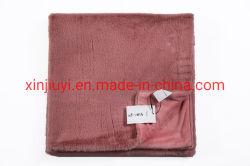 Nuevo diseño Faux Fur Mink mantas de lana/lanza