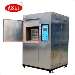 Doubleur Chambre d'essai de choc thermique de la température de l'humidité Machine testeur