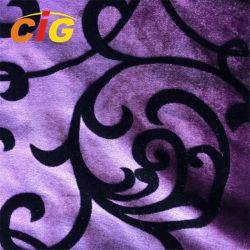Supervelour-Polyester-weiches Samt-Gewebe