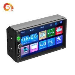 Autoradio 2 DIN 7010B 7 pouces écran HD LCD tactile de l'autoradio lecteur audio auto Autoradio stéréo Bluetooth lien miroir plusieurs langues Voiture Lecteur vidéo