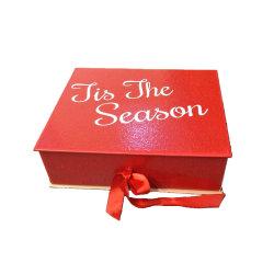 주문을 받아서 만들어진 단단한 마분지 자석 접히는 서류상 선물 상자 포장