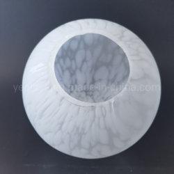 Bereifter weißer Glaskugel-Kugel-Lampen-Opalfarbton