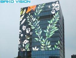 خارجيّ عادية شفافيّة ستار [غلسّ ويندوو] [لد] مرئيّة [ديسبلي سكرين] لأنّ بناية سطحيّة يعلن