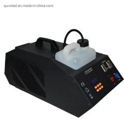 Alta qualidade 1500W névoa fina névoa máquina de fumaça DJ Discoteca Contratante caso