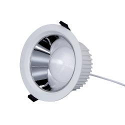 Ugr<19 100lm/W 10W/15W/20W/30W/40W/50W SMD LED intégré vers le bas de plafond encastré lumière