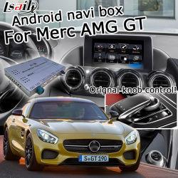 Système de navigation GPS Lsailt Android pour Mercedes Benz AMG Gt Ntg 5.0 Yandex Waze Carplay Youtube en option