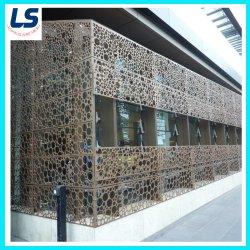 A fábrica de alumínio perfurados decorativa metal expandido para revestimento de paredes exteriores