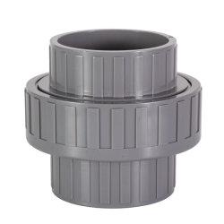 La couleur grise PN10 pour l'eau de traitement de l'Union PVC