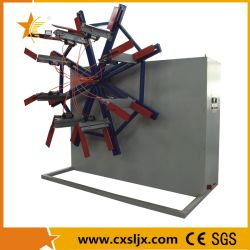 Enrouleur de tuyau à disque unique pour l'enroulement du plastique PVC PE Tube doux et souple