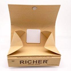 Papier voor het rollen van sigaretten met lade en Grinder OEM-steun