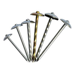 Chiodi galvanizzati del collegare della costruzione per i chiodi del tetto ombrello/del calcestruzzo