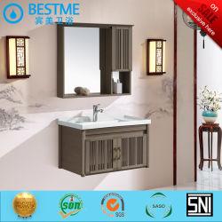 Kabinetten de van uitstekende kwaliteit van de Badkamers van pvc met Spiegel jr-3345