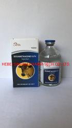 D Examethasone Injectie 0.2% CAS Nr 50-02-2 GMP de Geneesmiddelen van het Gevogelte van de Fabrikant