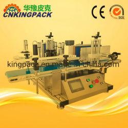 Tipo de tabla de la máquina de etiquetado de botellas redondas de la Máquina de aplicador de etiquetas