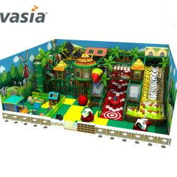 Plástico barato pequeno parque infantil interior equipamento playground coberto Guangzhou Piscina Crianças Playground