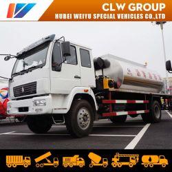 HOWO 9000L/10000L Distribuidor de asfalto camión cisterna el mantenimiento de carreteras de asfalto camión camión de pulverización