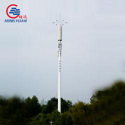 Auto-portantes galvanizado Aço Sinal Celular GSM torre de telecomunicações mastro da antena