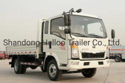 Sinotruk HOWO 4X2 camion di bassa potenza del carico del motore diesel da 6 tonnellate